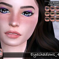 Eyeshadows 48 By Tatygagg