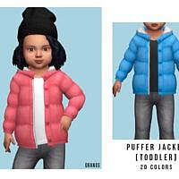 Puffer Jacket [toddler] By Oranostr