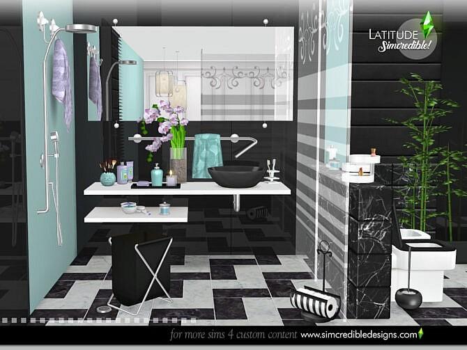 Sims 4 Latitude Decor by SIMcredible at TSR