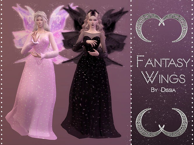 Fantasy Wings By Dissia