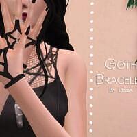 Goth Bracelets By Dissia