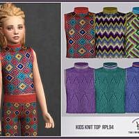 Kids Knit Top Rpl94 By Robertaplobo