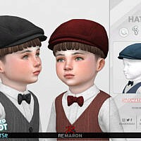Retro 50s Hat For Toddler 01 By Remaron