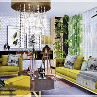 Marcel Living Room By Marychabb