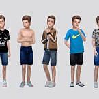 Rohan Denim Shorts Boys By Mclaynesims
