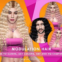 Modulation Hair For Males By Sonyasimscc