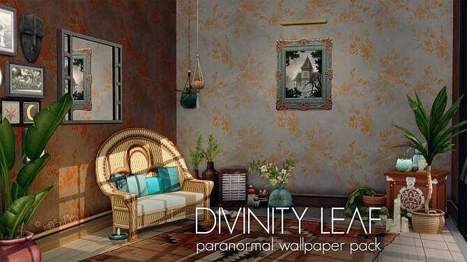 Divinity Leaf Paranormal Wallpaper Pack