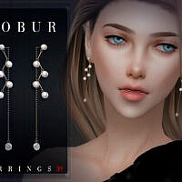 Pearl Earrings 39 By Bobur3
