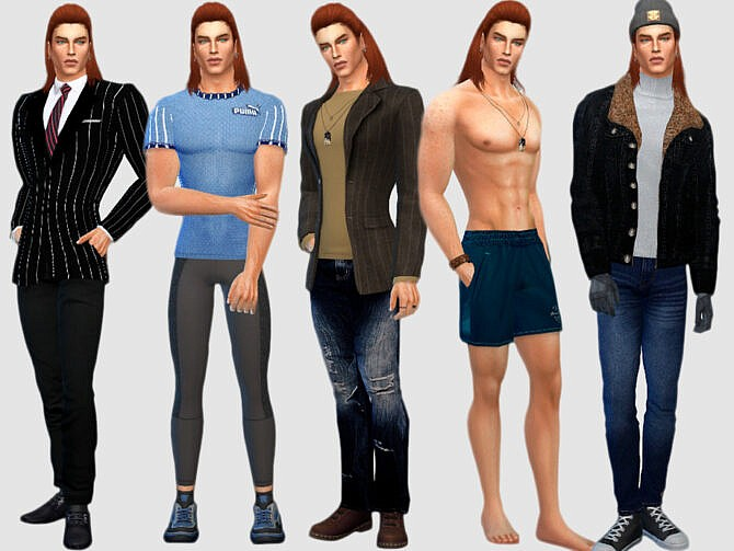 Sims 4 Aaron Lynch by DarkWave14 at TSR