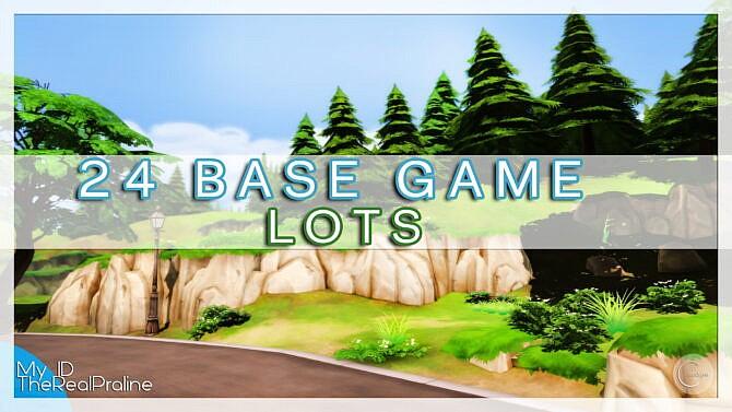 24 Base Game Lots