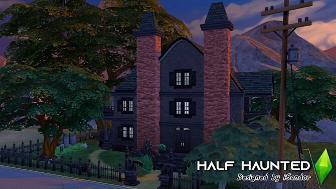Half Haunted Home By Isandor