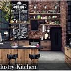 Industrial Kitchen By Nobody1392