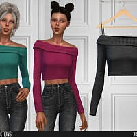 642 Crop Top By Shakeproductions
