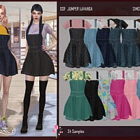 Dsf Outfit Jumper Lavanda By Dansimsfantasy