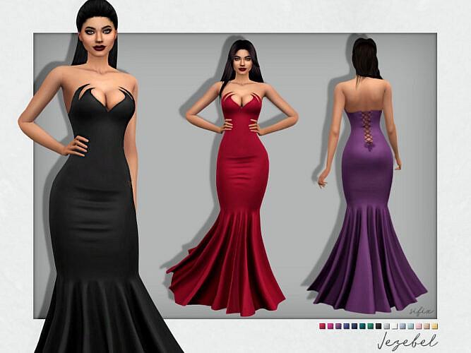 Jezebel Dress By Sifix