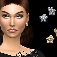 Star Stud Diamond Earrings By Natalis