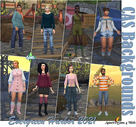 Cas Backgrounds Evergreen Harbor 2021 Part 2