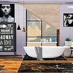 Bae Modern Bathroom By Moniamay72