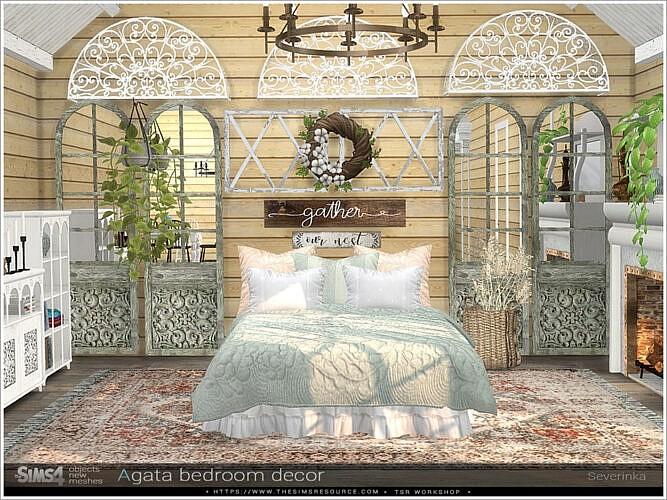 Agata Bedroom Decor By Severinka