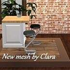 Bar Stool 8 Recolors By Chalipo