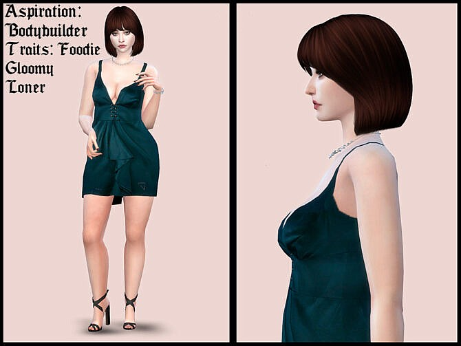 Sims 4 Jeanne Marshall by YNRTG S at TSR