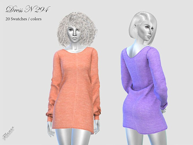 Short Dress N 294 By Pizazz