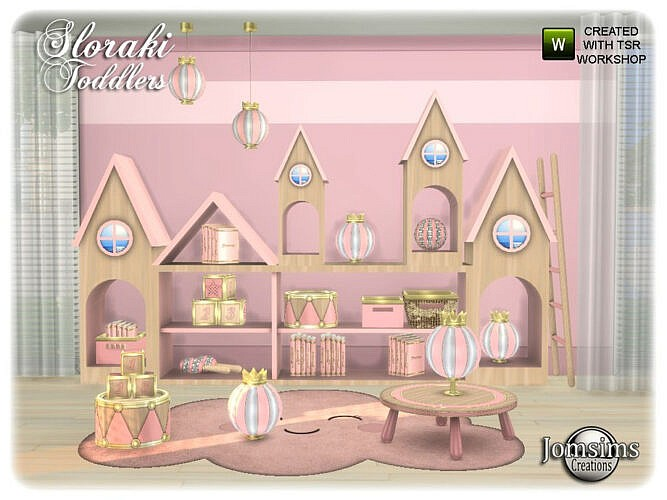 Sloraki Toddlers Bedroom Part 2 By Jomsims