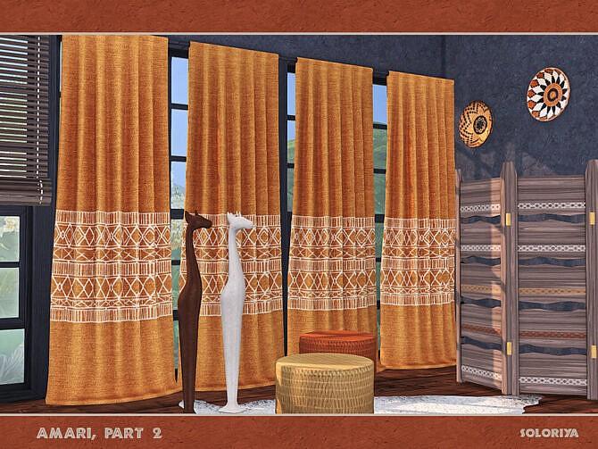Sims 4 Amari living room part 2 by soloriya at TSR