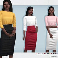 Jeanette Outfit By Sifix