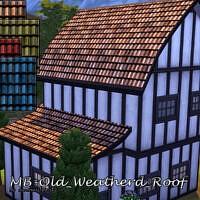 Mb Old Weathered Roof By Matomibotaki