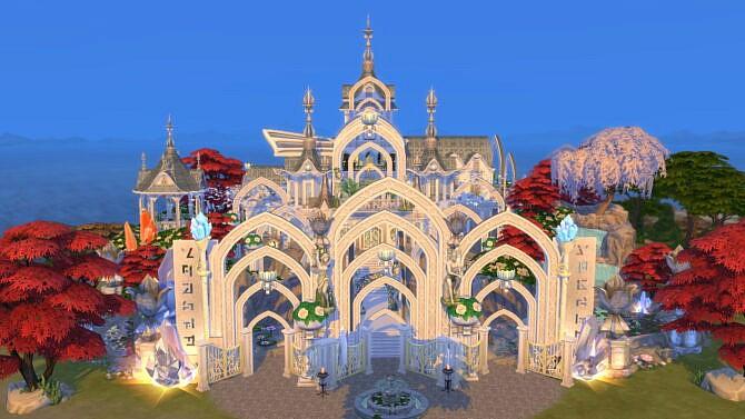 Magical Fairy Castle By Bradybrad7