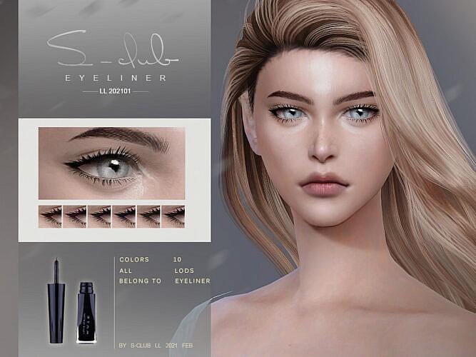 Eyeliner 202101 By S-club Ll