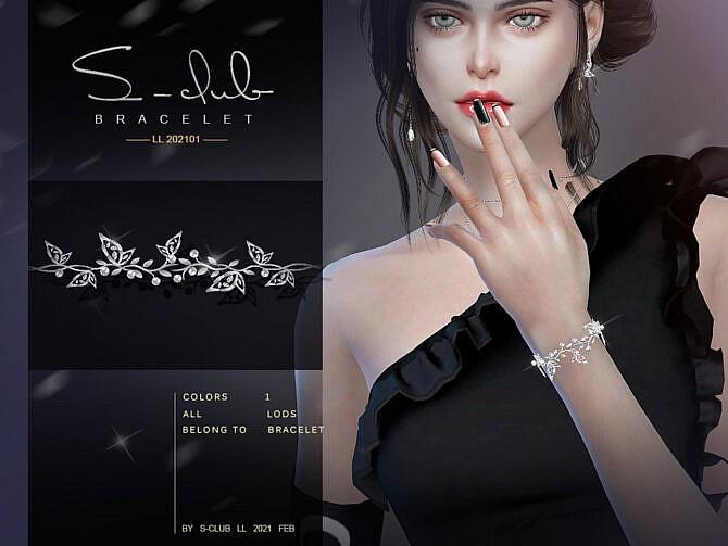 Sims 4 Bracelet 202101 by S Club LL at TSR