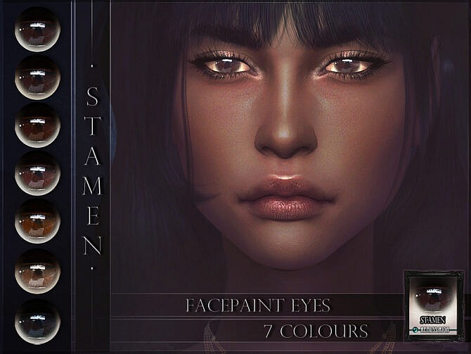 Sims 4 Stamen Eyes by RemusSirion at TSR