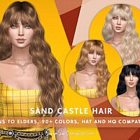 Sand Castle Hair By Sonyasimscc
