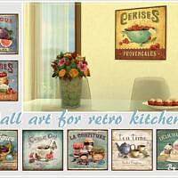 Retro Wall Art For Retro Kitchen By Philo