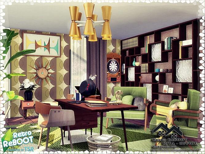 Retro Rita Office By Marychabb