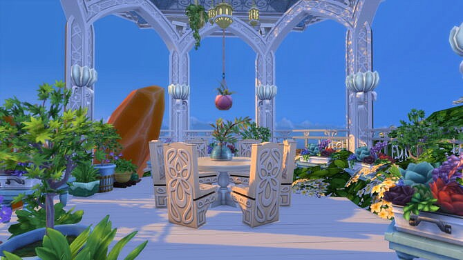 Sims 4 Magical Fairy Castle by bradybrad7 at Mod The Sims 4
