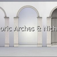 Doric Arches And Niche By Thejim07