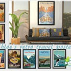 Retro Chloe's Retro Travel Posters By Philo