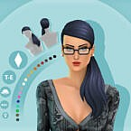Mindy Maxis Match Hair By Simcelebrity00