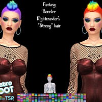 Fantasy Recolor Of Nightcrawler's Strong Hair By Pinkycustomworld