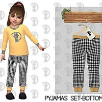 Pyjamas Set Bottom C352 By Turksimmer