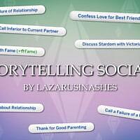 Storytelling Socials V0.9 By Lazarusinashes