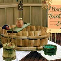 Medieval Bathroom Set By Miraimayonaka
