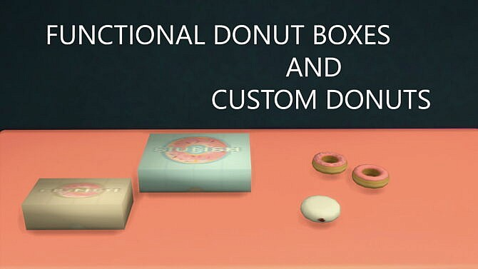 Functional Donut Boxes For Custom Donuts By Flowerbunny