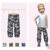 Toddler Animal Camo Pants By Pinkfizzzzz