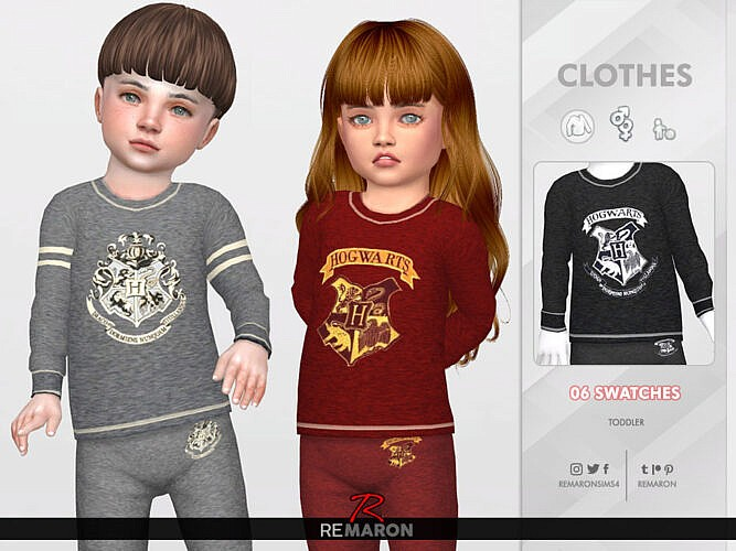 Harry Potter Pjs Top For Toddler 01 By Remaron