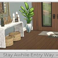 Stay Awhile Entry Way (part 1) By Chicklet
