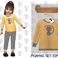 Pyjamas Set Top C351 By Turksimmer